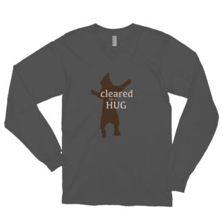 cleared for a hug - the sick healer